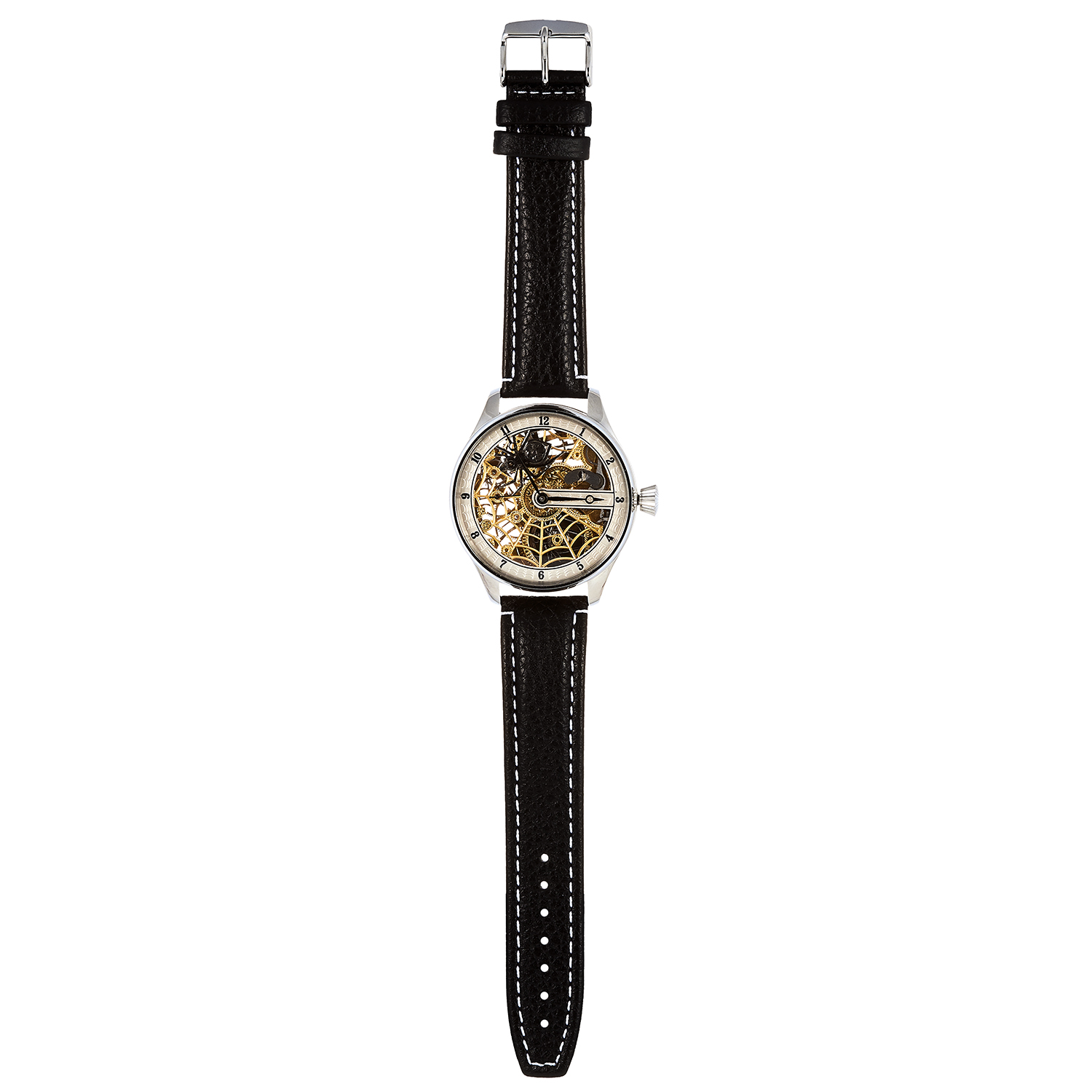 Los 388 - A GENTLEMAN'S WRISTWATCH, OMEGA MOVEMENT the circular 53mm case with openwork glass design,