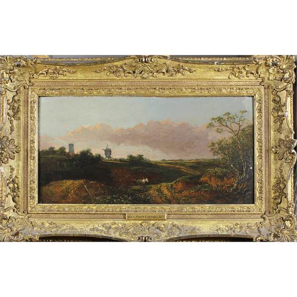 Crome, John 1768 - 1827 British Landscape. - Image 2