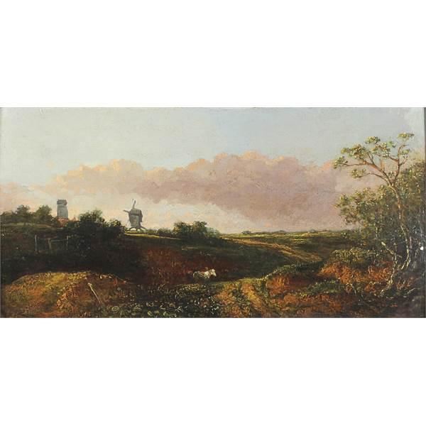 Crome, John 1768 - 1827 British Landscape. - Image 1
