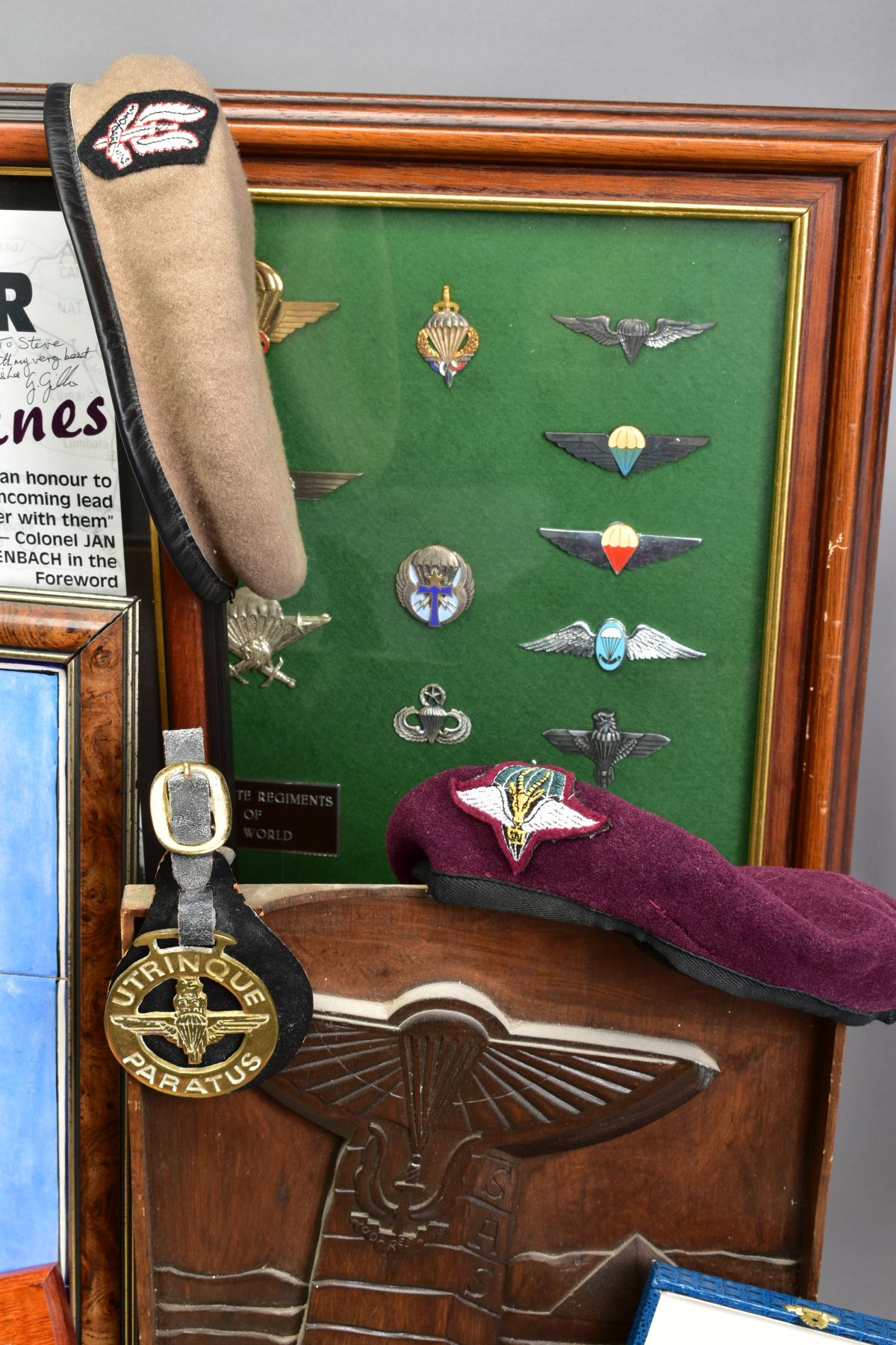 A SUPERB AND ALMOST TOTALLY UNIQUE GROUP OF NINE MEDALS, awarded to a member of the '22 Special - Image 2 of 36