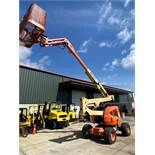 JLG 450AJ 4WD ARTICTLATING MAN LIFT, 4x4, LP/GAS, RUNS AND OPERATES