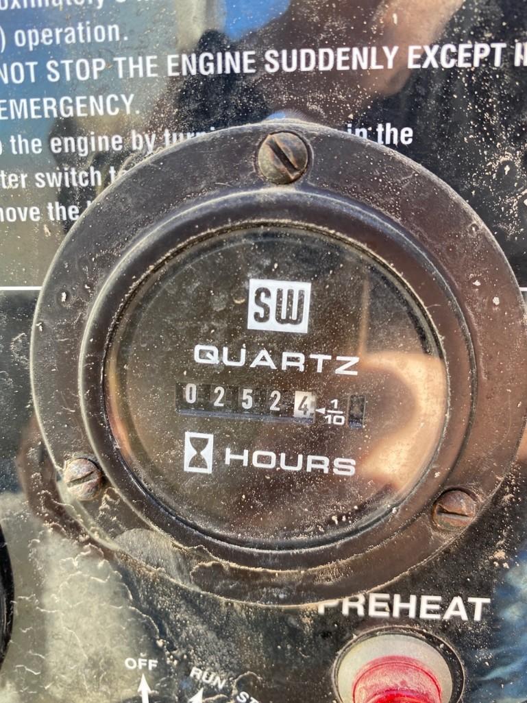 2011/2012 WHISPERWATT MQ POWER DIESEL GENERATOR, TRAILER MOUNTED, 20KW, 25KVA, RUNS AND OPERATES - Image 9 of 20