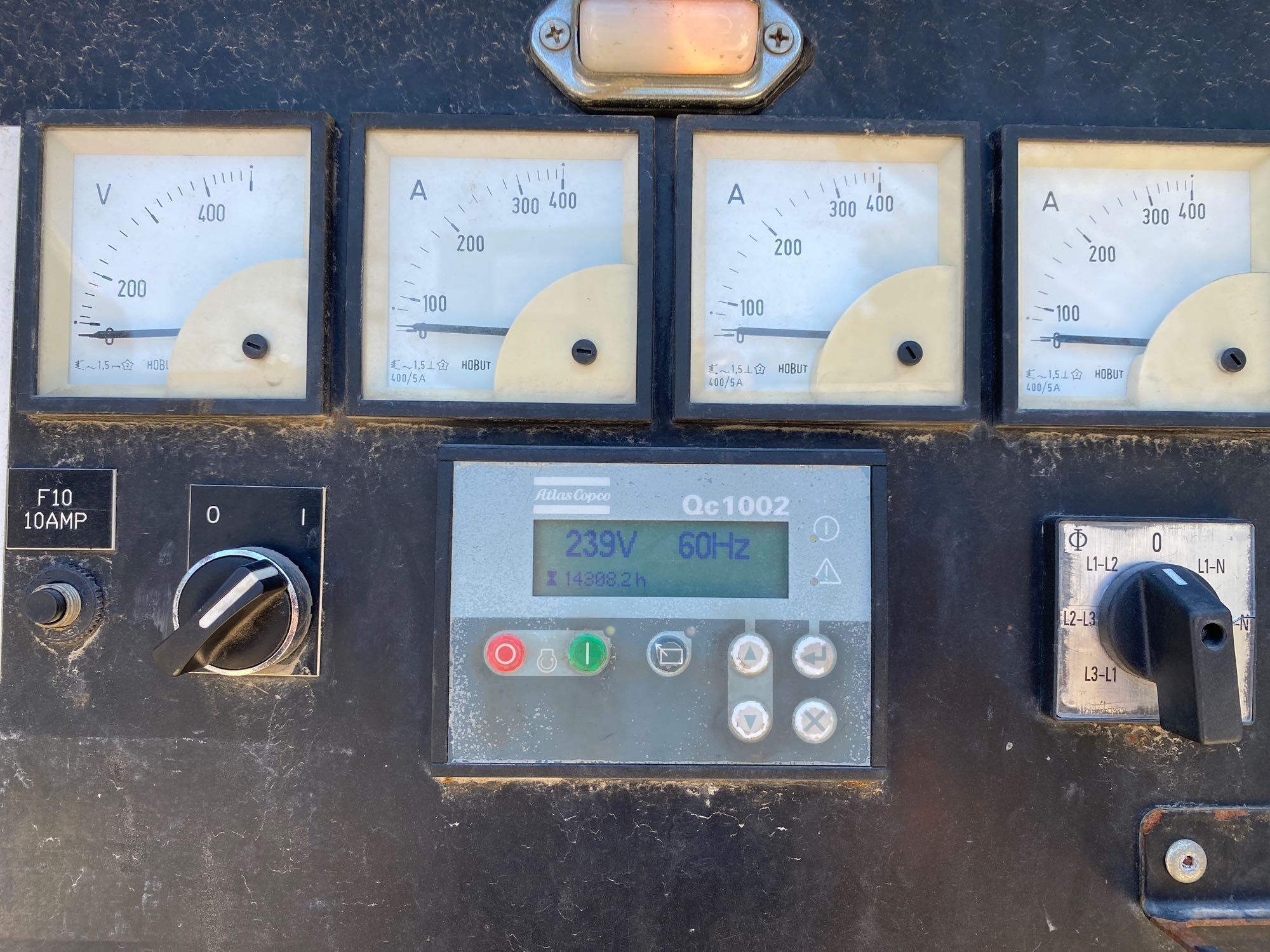 2010/2011 CPG70 JD, JOHN DEERE DIESEL GENERATOR, 56KW, 70KVA, 120/240, 480/240/208, TANDEM AXLE, BUI - Image 8 of 13