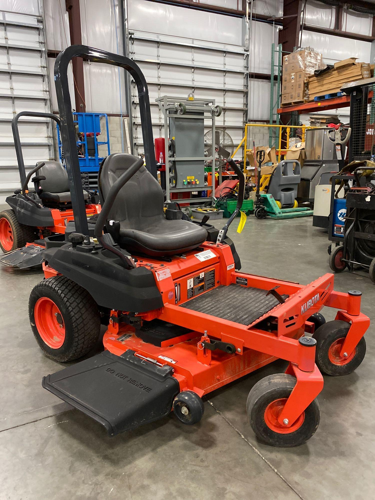 """2016 KUBOTA Z122RKW 42"""" RIDE ON MOWER, 3.9 HOURS SHOWING, RUNS AND OPERATES - Image 3 of 9"""