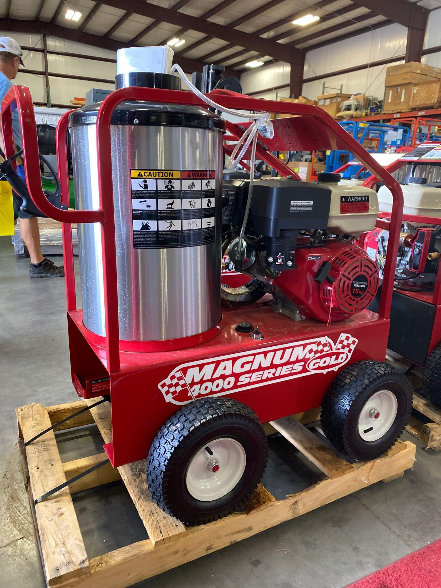NEW/UNUSED 2020 MAGNUM 4000 HEATED PRESSURE WASHER, ELECTRIC START - Image 4 of 5