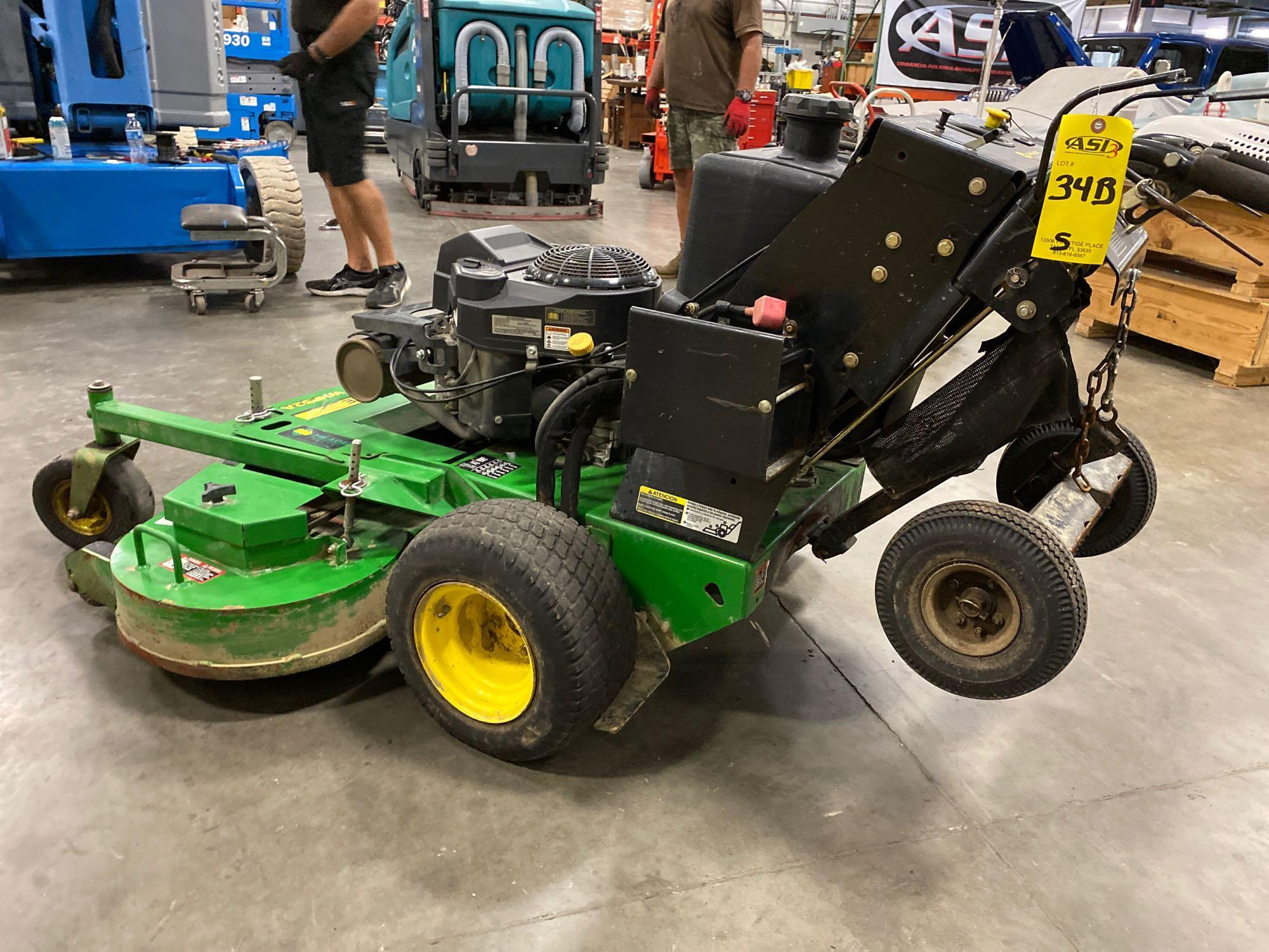 """JOHN DEERE WHP52A MOWER, 52"""" DECK, RUNS AND OPERATES - Image 3 of 7"""