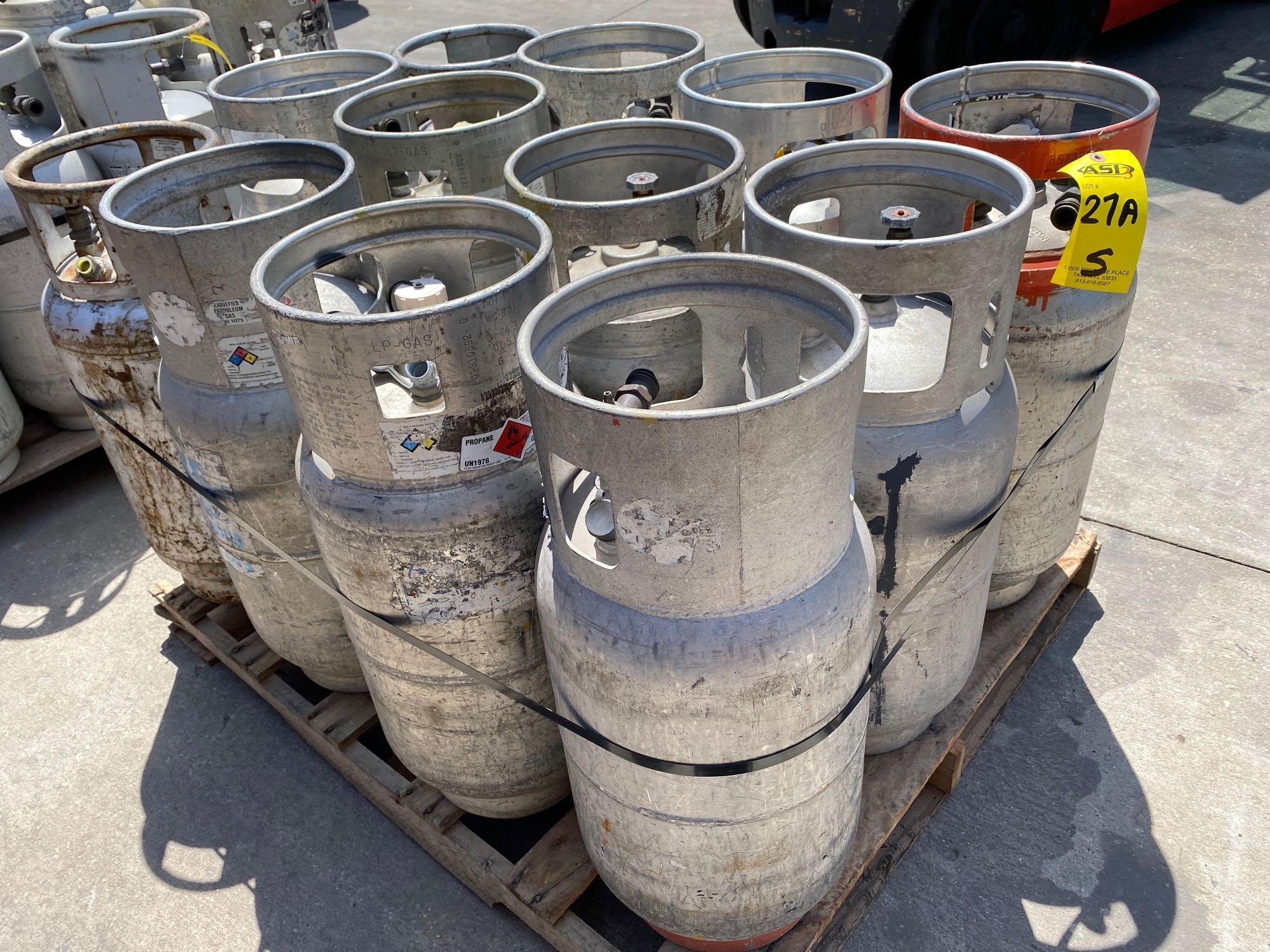 PALLET OF ASSORTED LP TANKS - Image 2 of 2