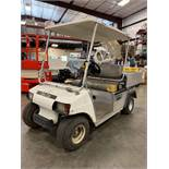 CLUB CAR CARRYALL ELECTRIC UTILITY CART WITH BED, RUNS AND OPERATES