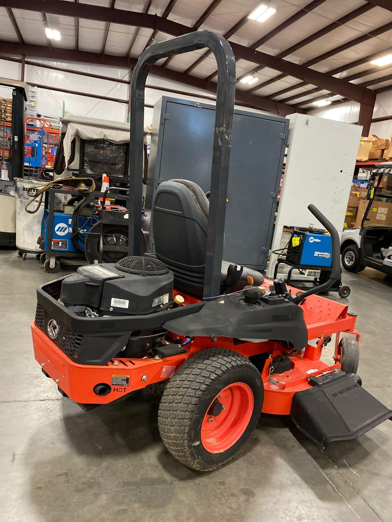 """2016 KUBOTA Z122RKW 42"""" RIDE ON MOWER, 3.9 HOURS SHOWING, RUNS AND OPERATES - Image 4 of 9"""