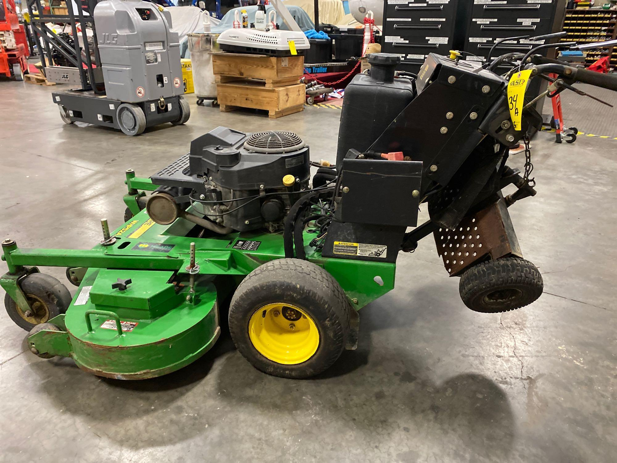 "JOHN DEERE MOWER JOHN DEERE WHP52A MOWER, 52"" DECK, RUNS AND OPERATES - Image 3 of 7"