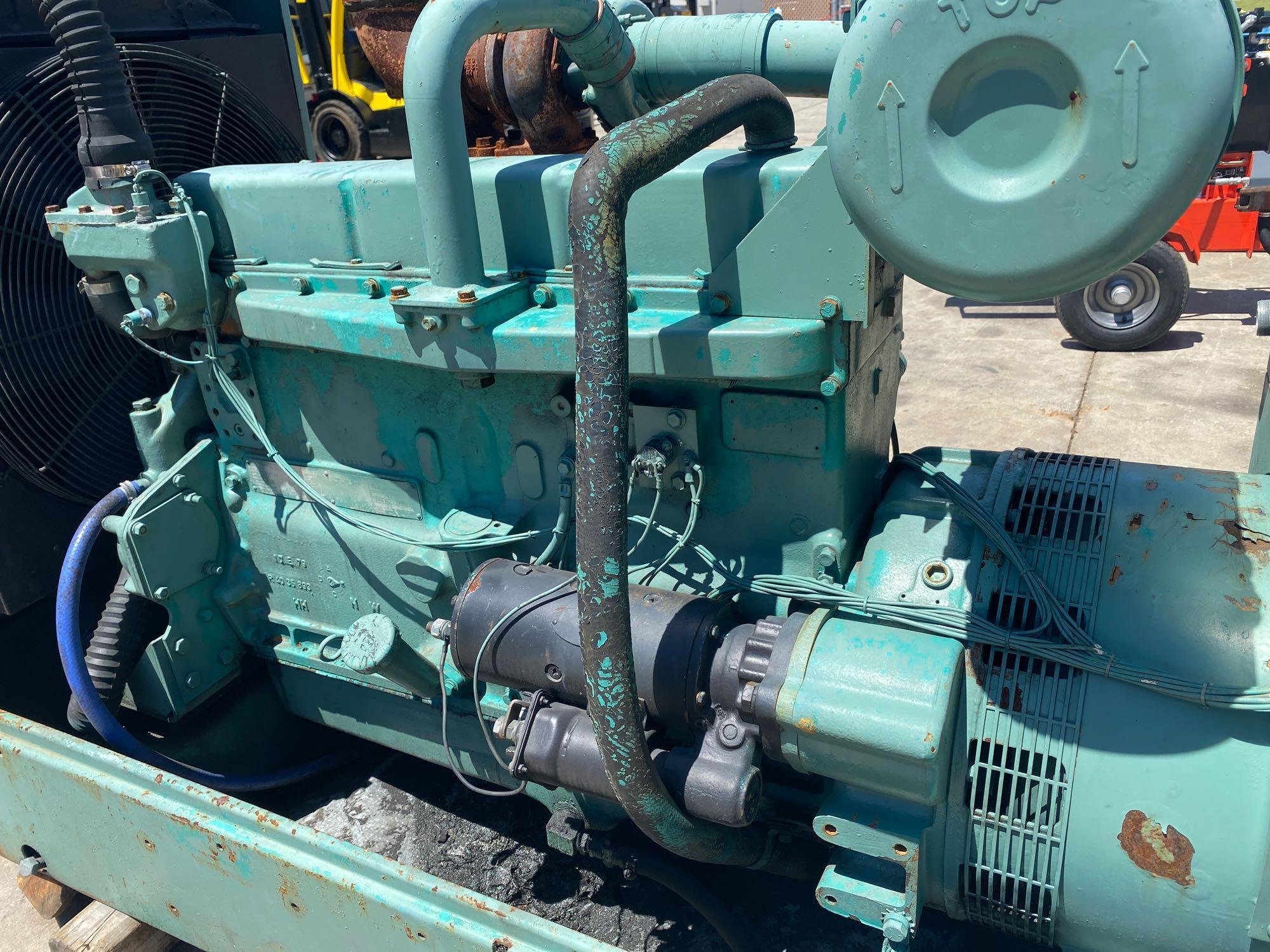 ONAN 90 DYC GENERATOR, 90 KW, 112KVA, 1085 HOURS SHOWING - Image 10 of 11