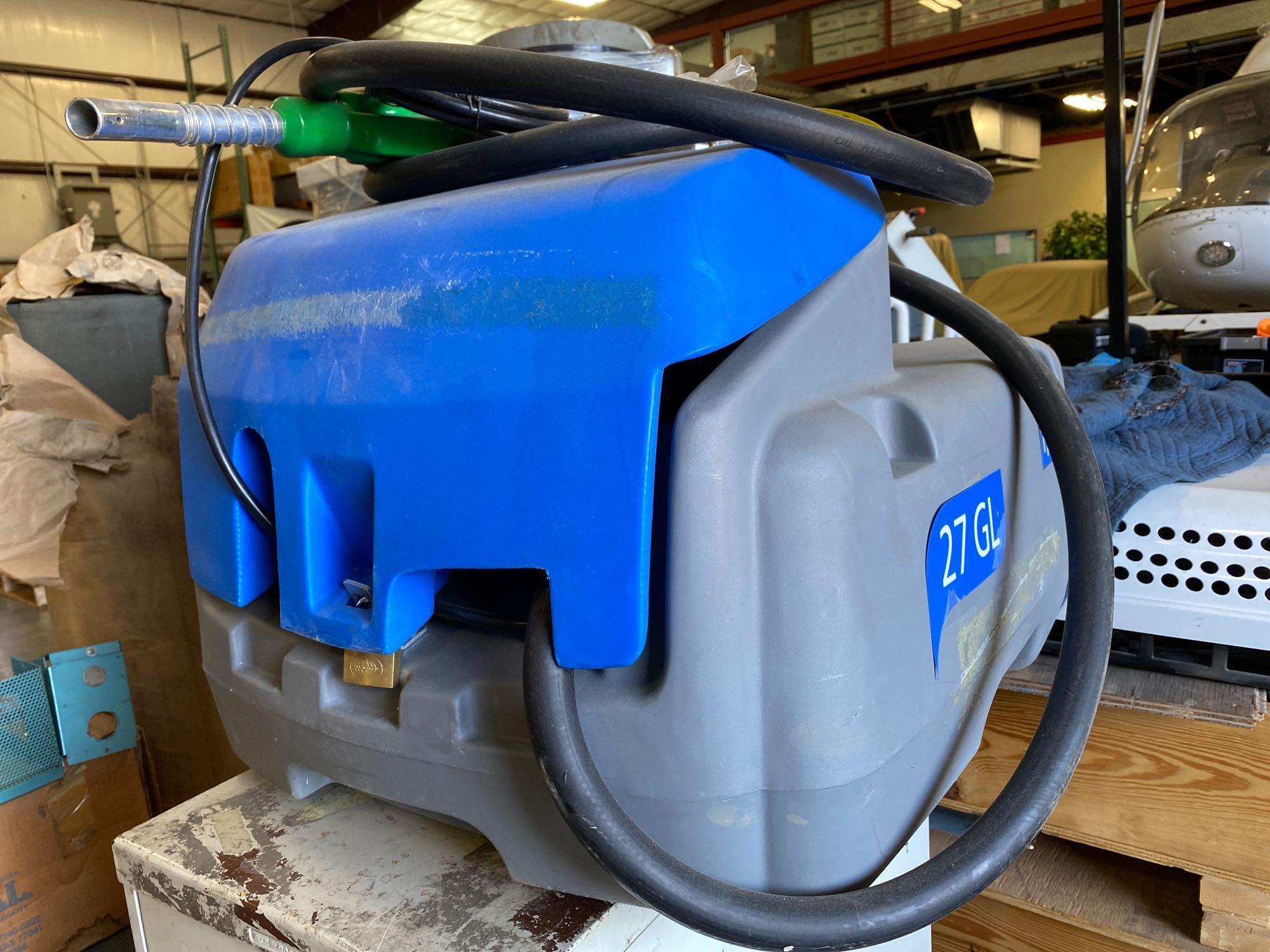 UNUSED TOTO 27 GALLON FUEL TANK WITH 12V PUMP - Image 3 of 6