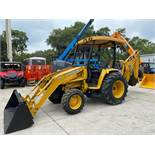 2011 JOHN DEERE 110 LOADER, BACKHOE, 4x4, DIESEL, OUTRIGGERS, RUNS AND OPERATES