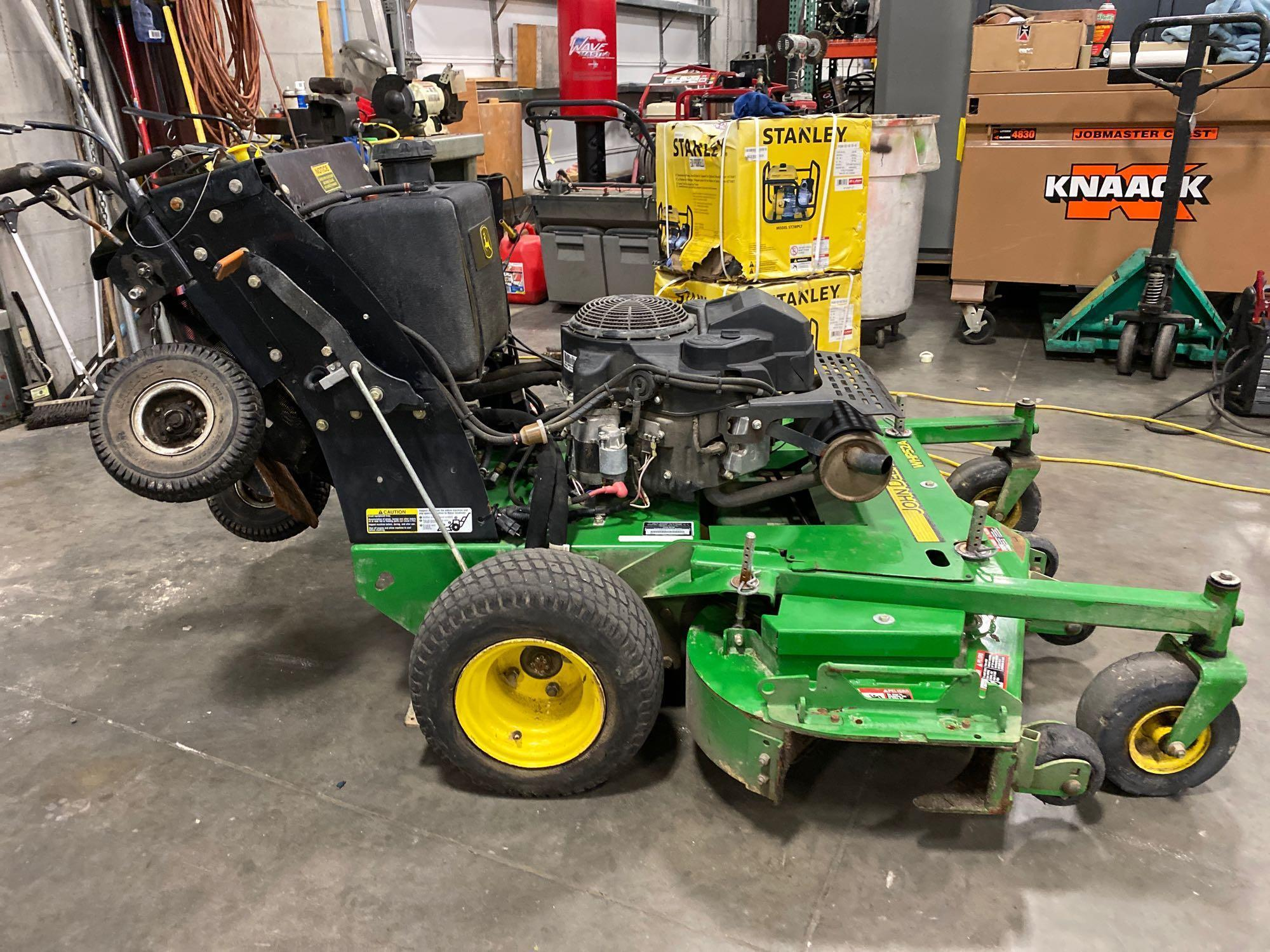 "JOHN DEERE MOWER JOHN DEERE WHP52A MOWER, 52"" DECK, RUNS AND OPERATES - Image 6 of 7"