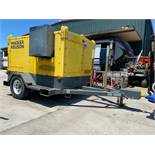 2011 WACKER NEUSON, HI770XHD GENERATOR W/HEATER, TRAILER MOUNTED, KUBOTA DIESEL, 16KW, RUNS AND OPER
