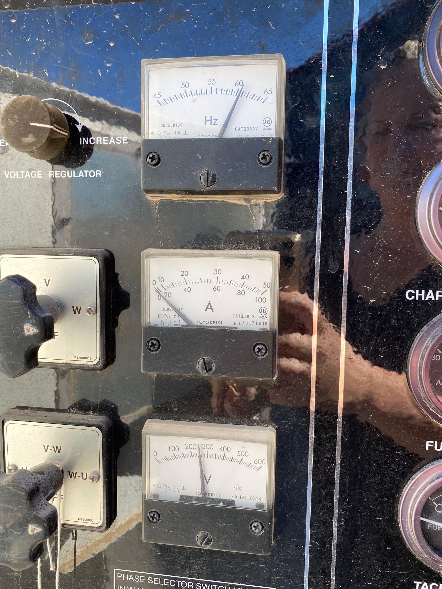 2011/2012 WHISPERWATT MQ POWER DIESEL GENERATOR, TRAILER MOUNTED, 20KW, 25KVA, RUNS AND OPERATES - Image 20 of 20