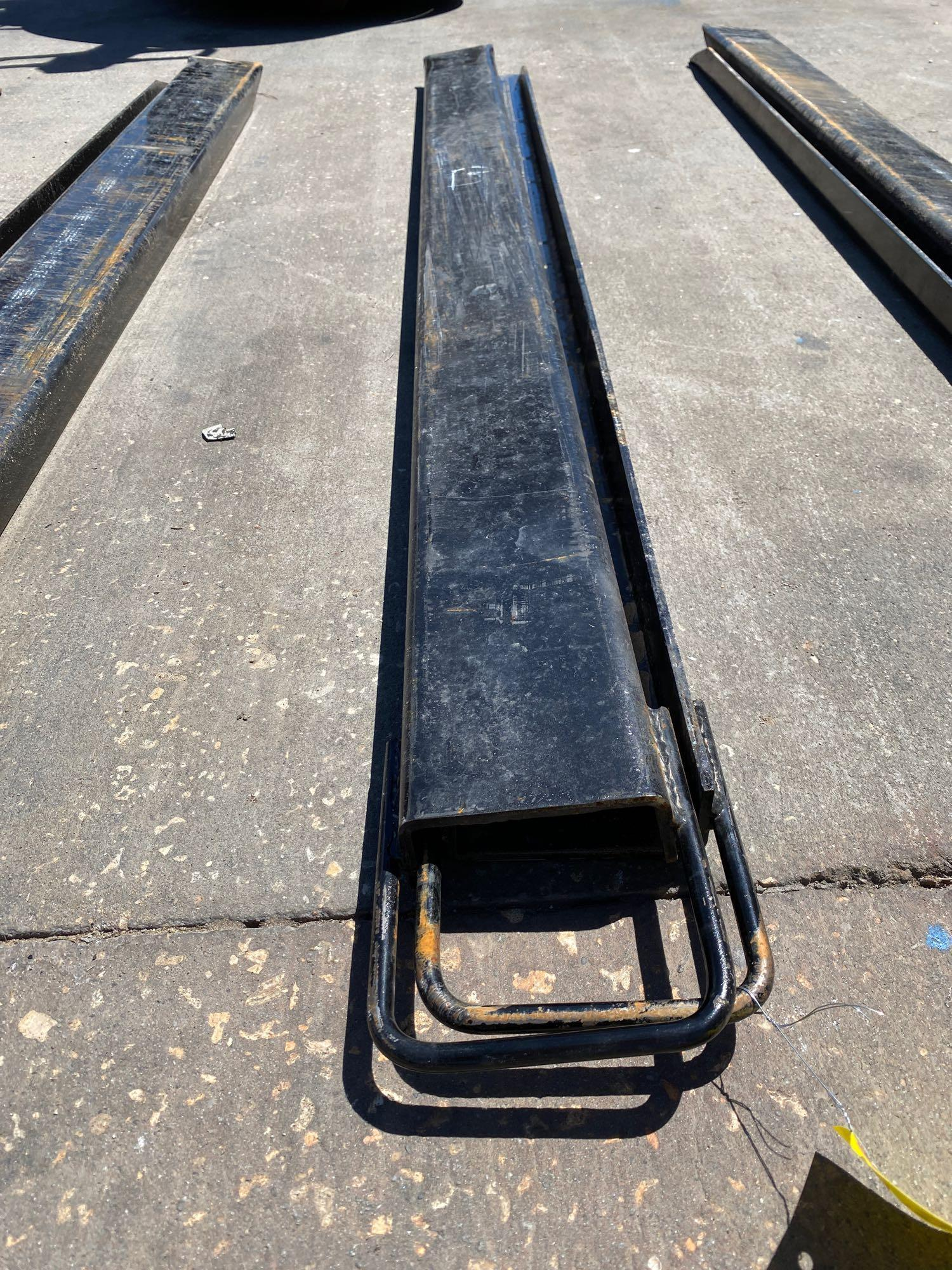 PAIR OF 6' SLIDE ON FORK EXTENSIONS - Image 2 of 2
