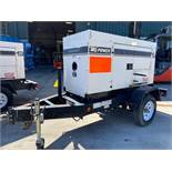 2011/2012 WHISPERWATT MQ POWER DIESEL GENERATOR, TRAILER MOUNTED, 20KW, 25KVA, RUNS AND OPERATES