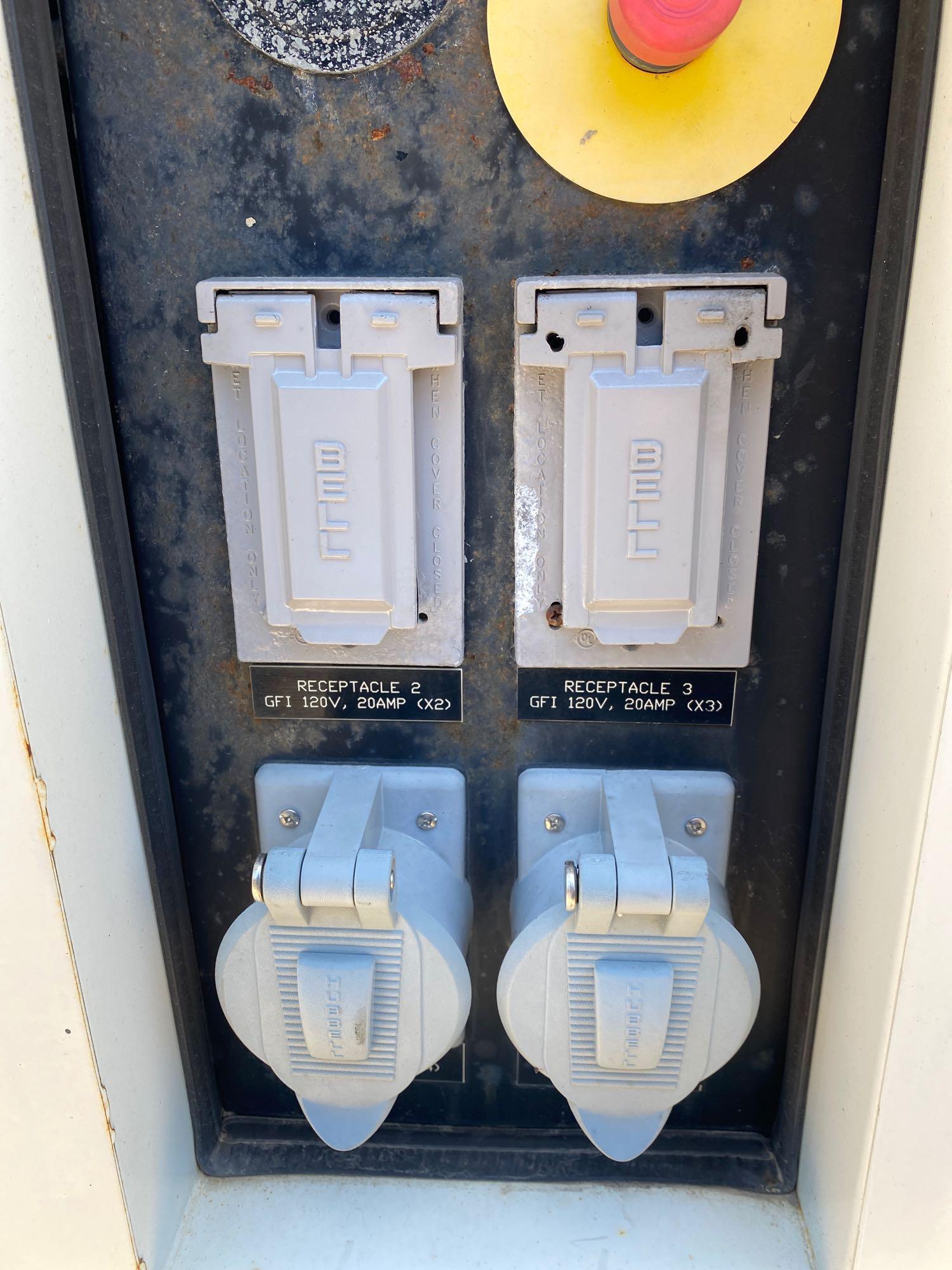 2010/2011 CPG70 JD, JOHN DEERE DIESEL GENERATOR, 56KW, 70KVA, 120/240, 480/240/208, TANDEM AXLE, BUI - Image 6 of 13