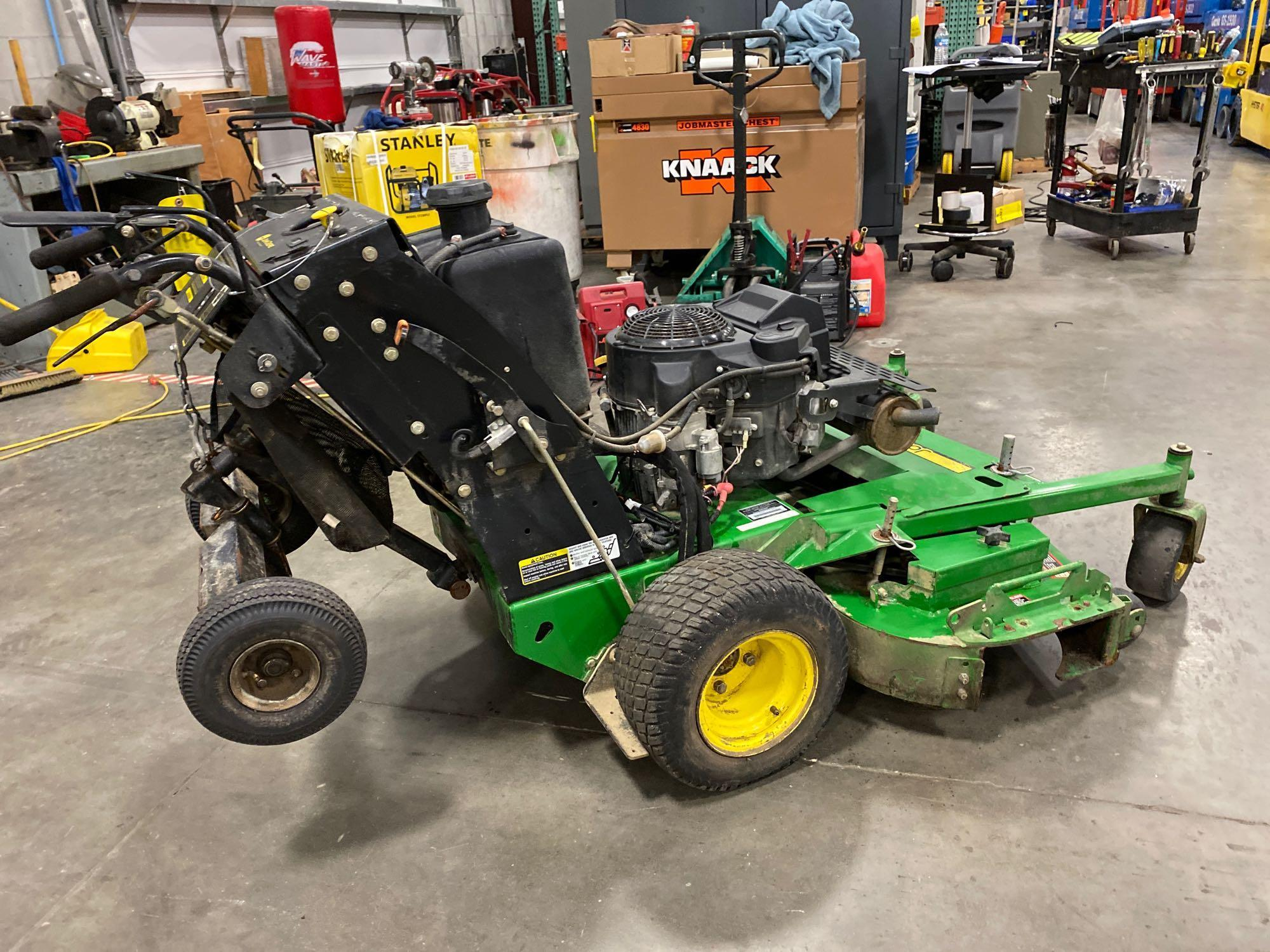 """JOHN DEERE WHP52A MOWER, 52"""" DECK, RUNS AND OPERATES - Image 4 of 7"""