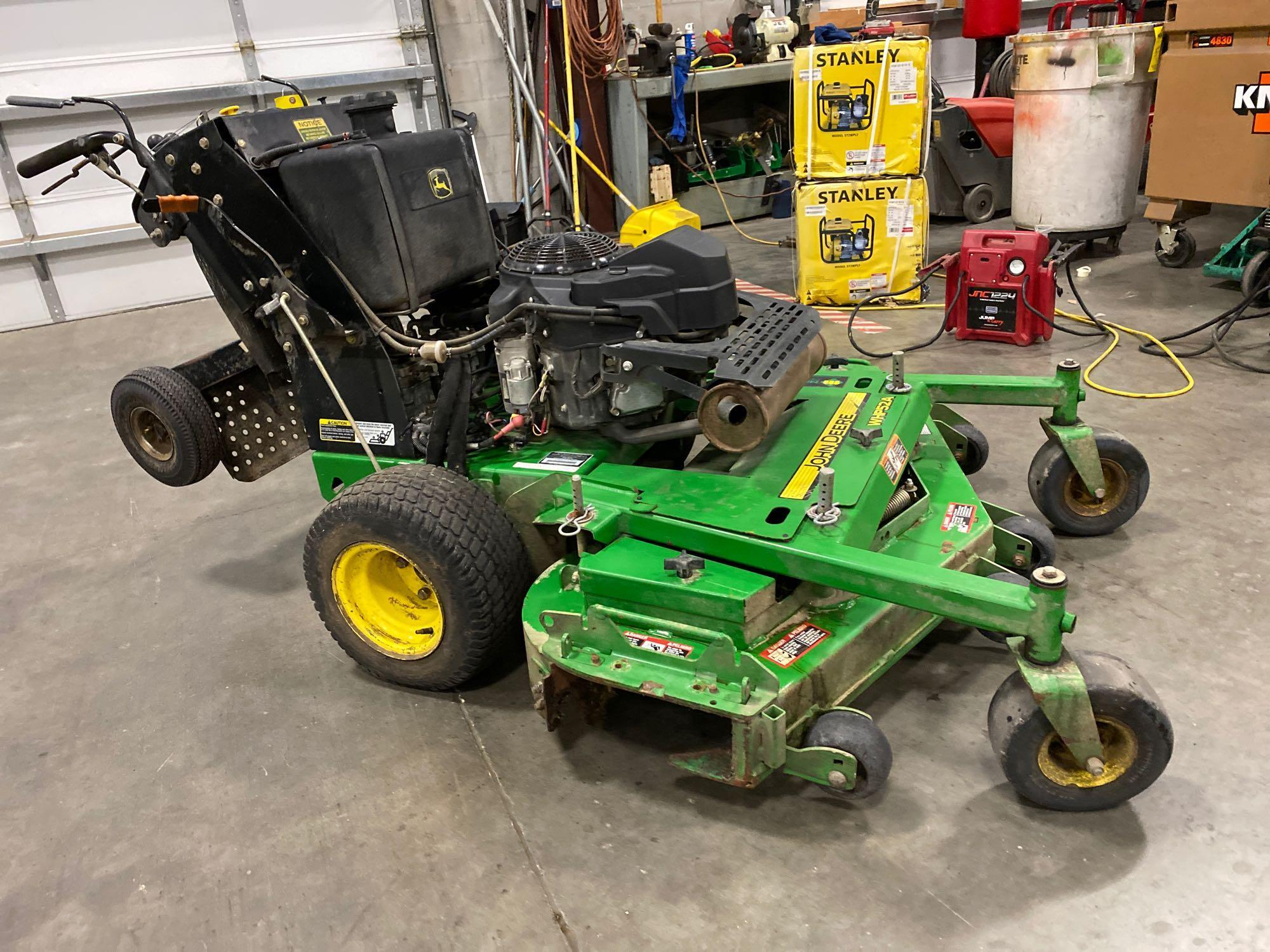 """JOHN DEERE WHP52A MOWER, 52"""" DECK, RUNS AND OPERATES - Image 5 of 7"""