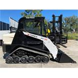 2012/2013 TEREX PT30 DIESEL SKID STEER, RUBBER TRACKS, BUCKET ATTACHMENT, RUNS AND OPERATES