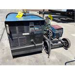 MILLER CP-302 ELECTRIC WELDER WITH MILLER 60 SERIES 24V WIRE FEEDER AND CABLES/CORDS