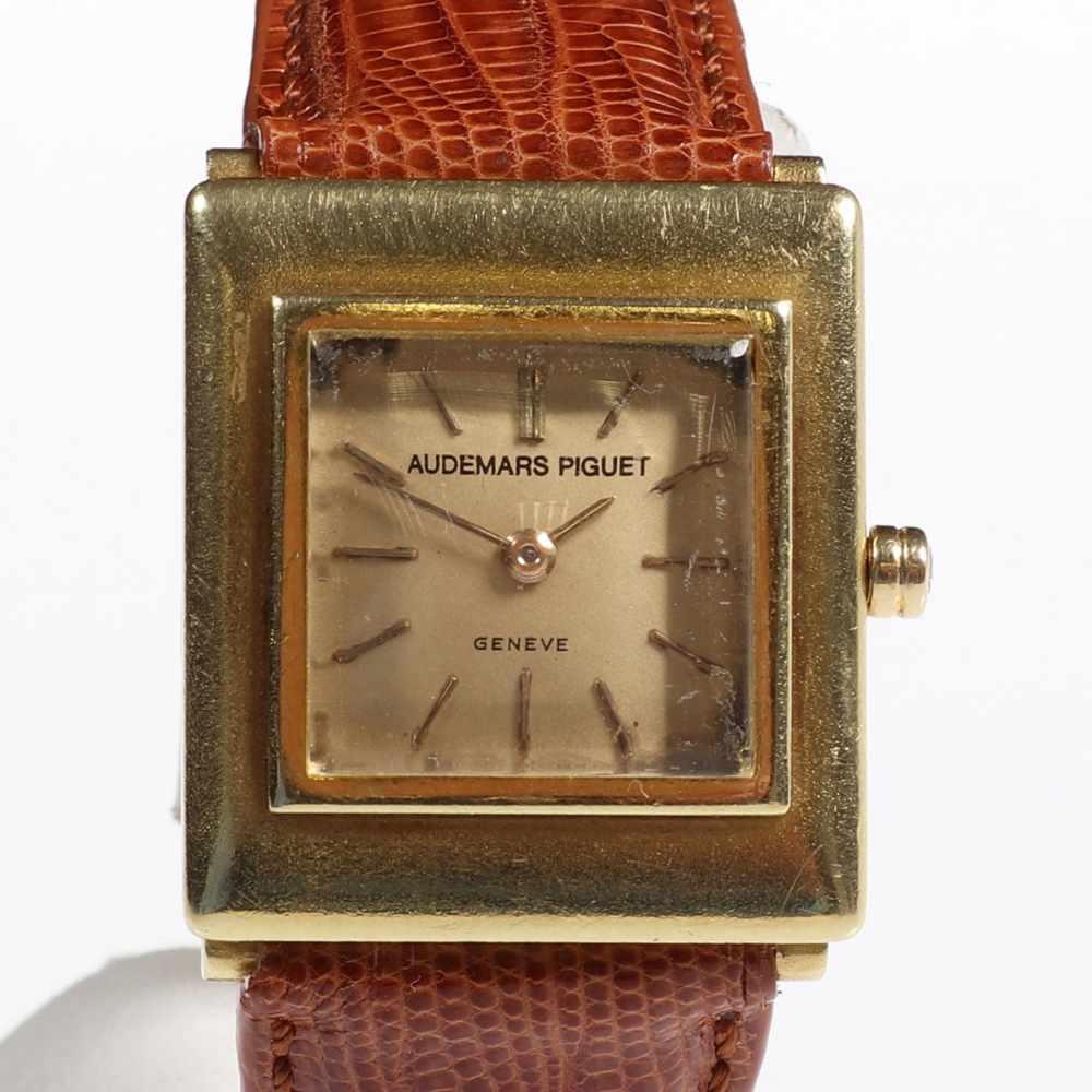 Lot 554 - Frühe Audemars Piguet - Armbanduhr<