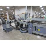 Stahl TF66 Continuous Fed Folder, s/n 44658-186002, w/8-Page Unit TF56, s/n 32379-130120