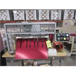Absolute Mod. TTSB Mag Spiral Binding Machine, s/n 1009, w/Foot Control