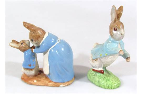 Beswick Beatrix Potter Large Peter Rabbit 100 Years