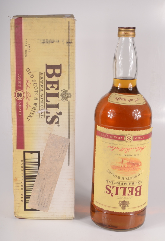 Lot 26 - A large bottle of Bell's Extra Special Old Scotch Whisky, aged 8 years, 4.