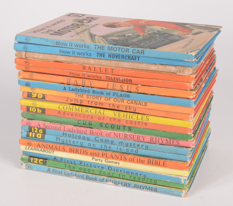 Lot 30 - A collection of 1st edition Ladybird books.