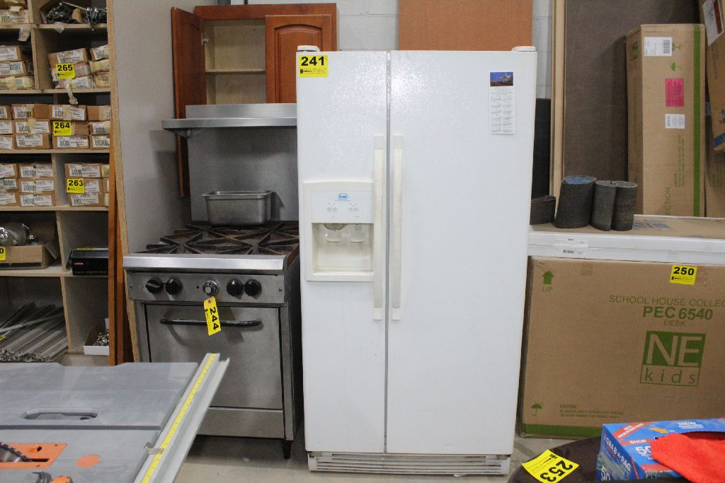 Roper Model Rs22aqxmq00 Side By Side Refrigerator Freezer