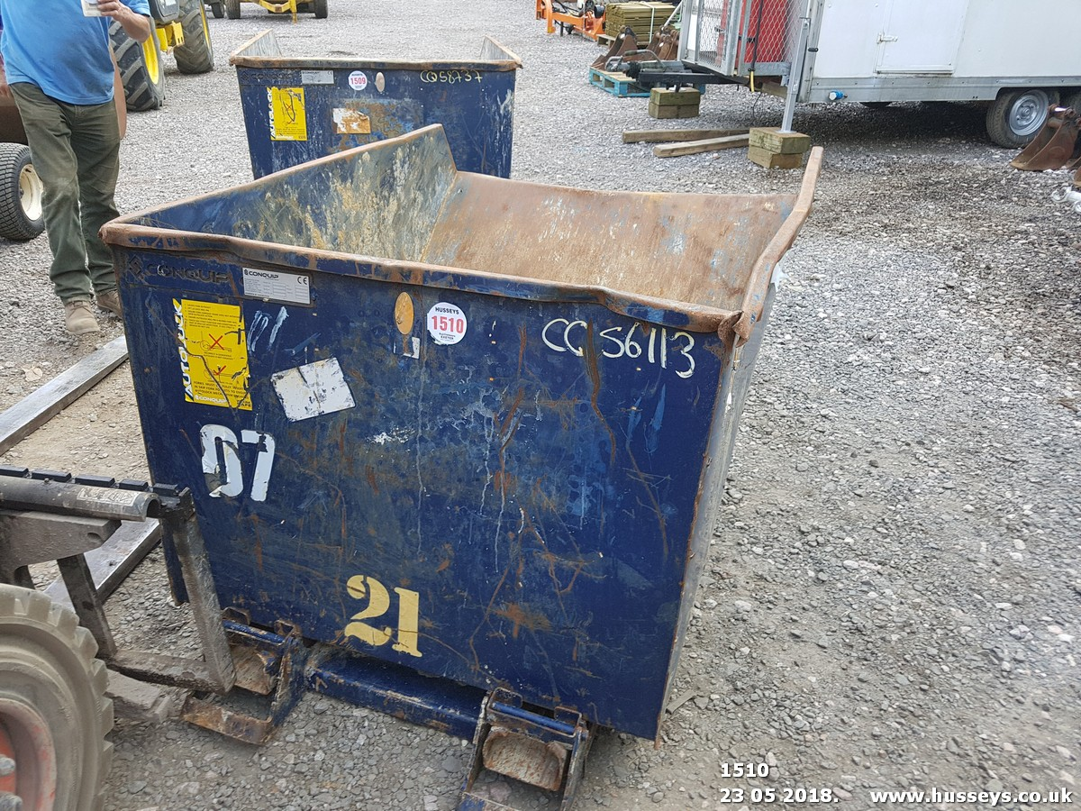 Lot 1510 - CONQUIP WASTE SKIP