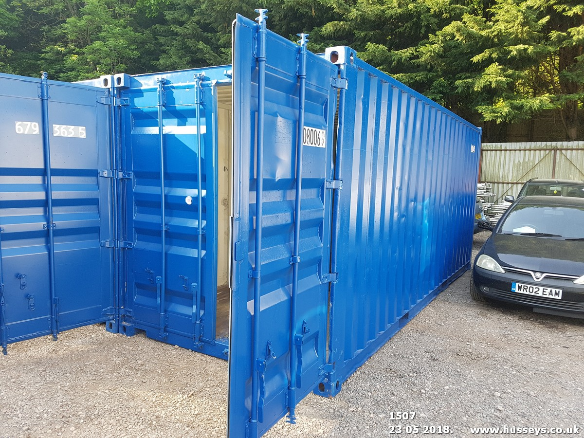 Lot 1507 - 20' STEEL CONTAINER