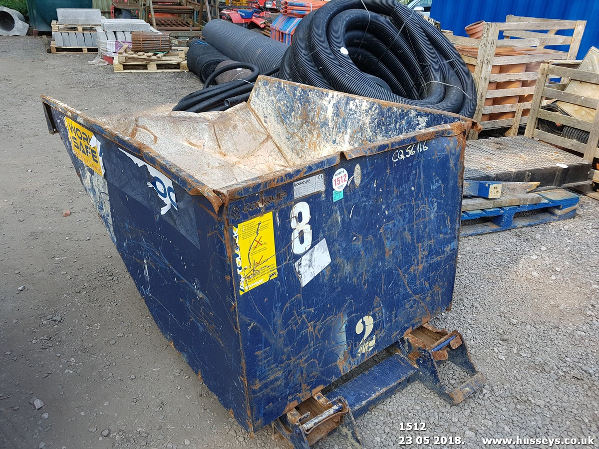 Lot 1512 - CONQUIP WASTE SKIP