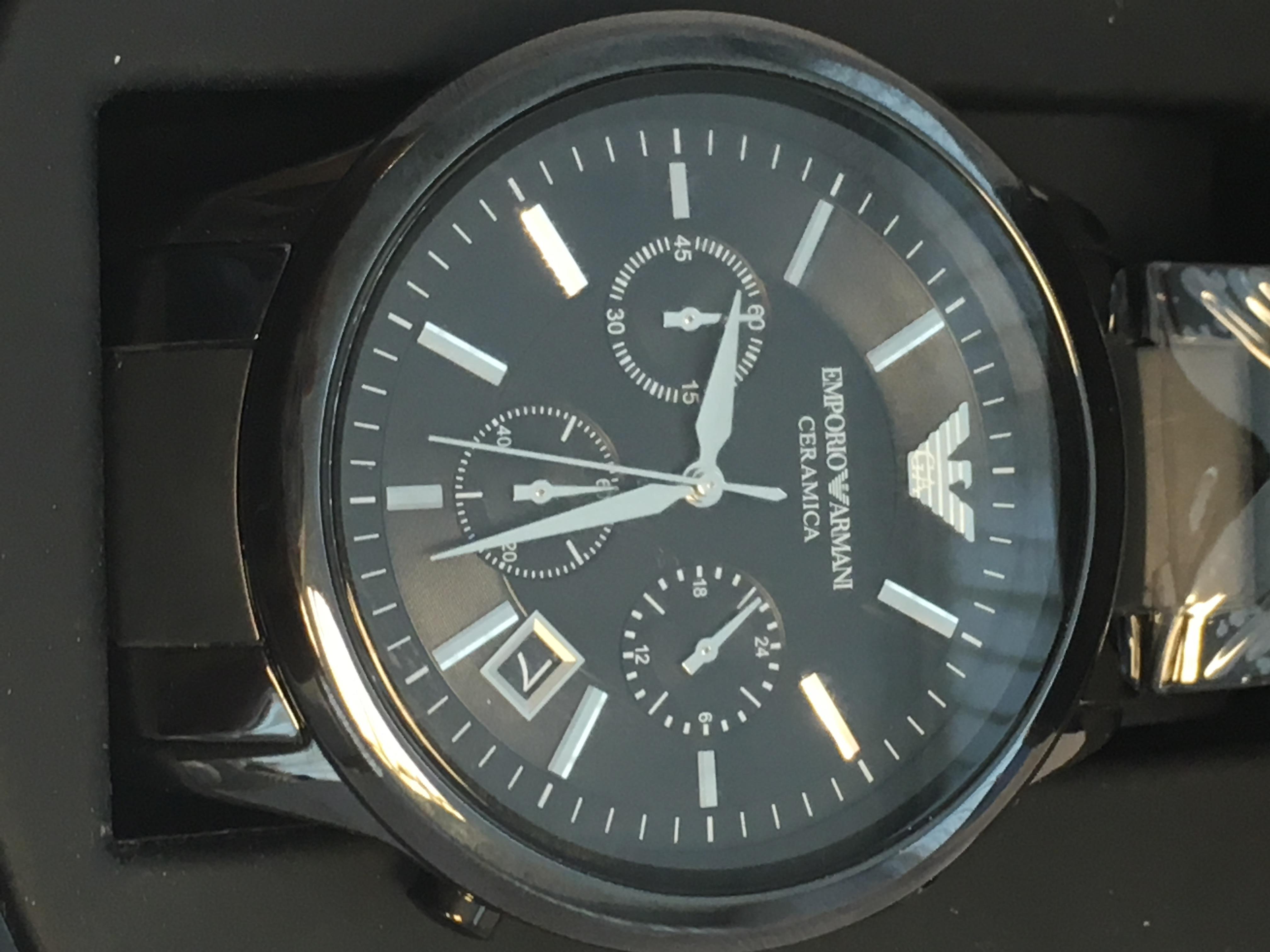 Lot 56 - Emporio Armani Model AR1452 Watch