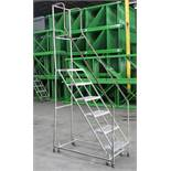 6 STEP ROLLING LADDER