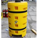 2 PCS NEW POLYTHYLENE WAREHOUSE COLUMN PROTECTOR