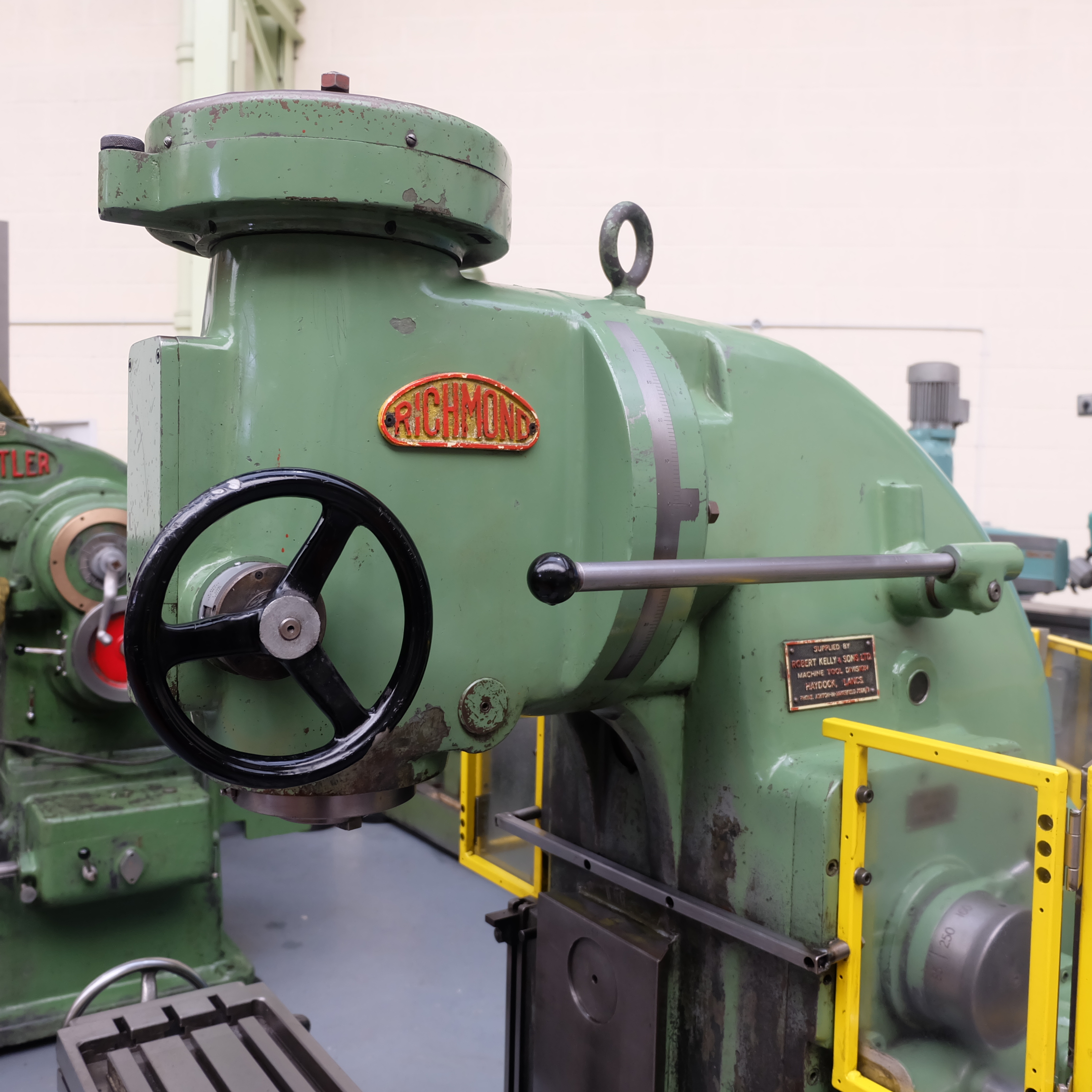 Richmond No 3V Vertical Milling Machine. - Image 9 of 12