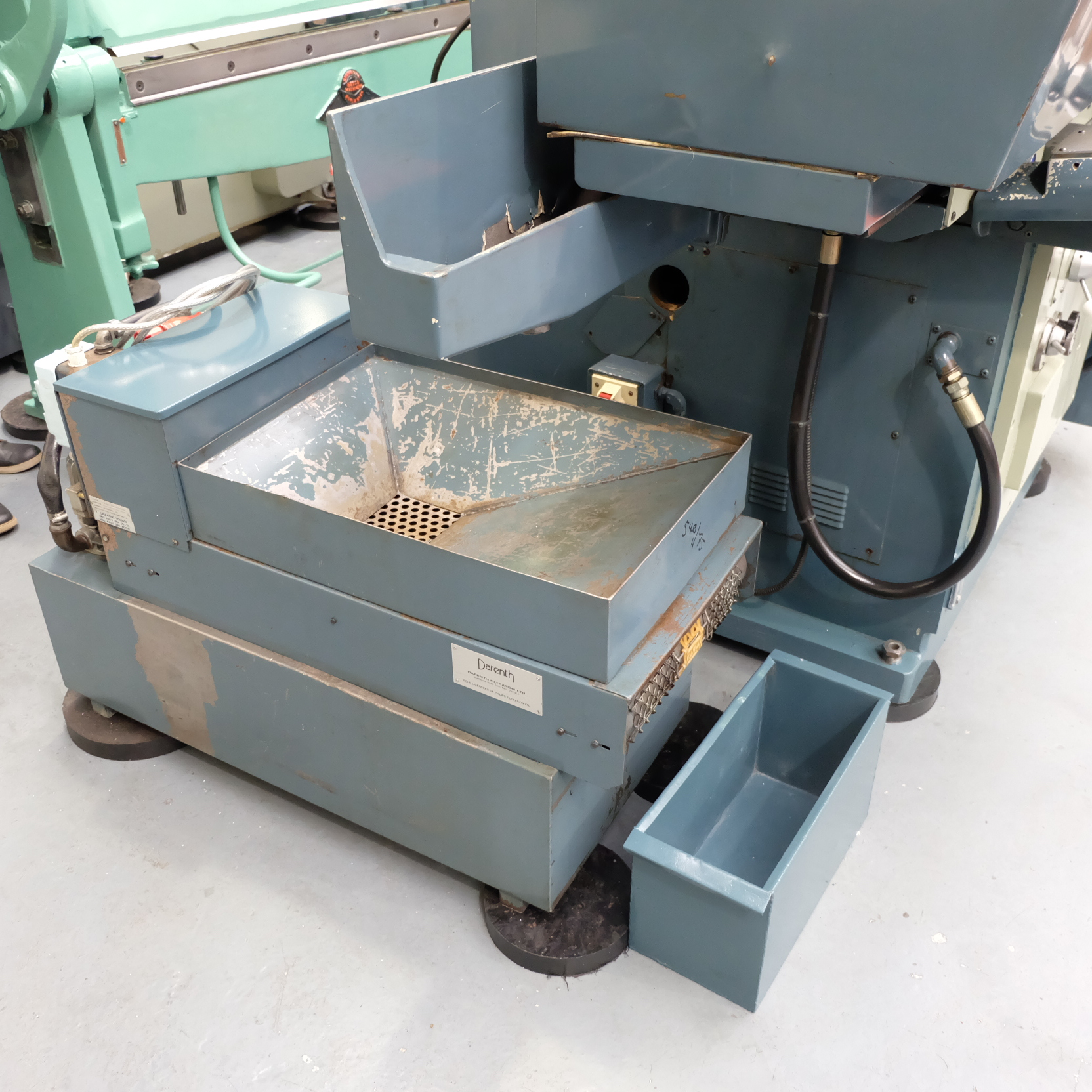 Jones & Shipman Type 1415 Toolroom Surface Grinder. With Magnetic Chuck & Coolant Tank. - Image 9 of 14