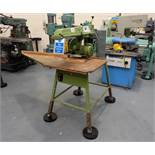 Multico Model C2/3 Radial Wood Saw. Swivelling/Tilting Cross Cut Timber Sawing Machine.