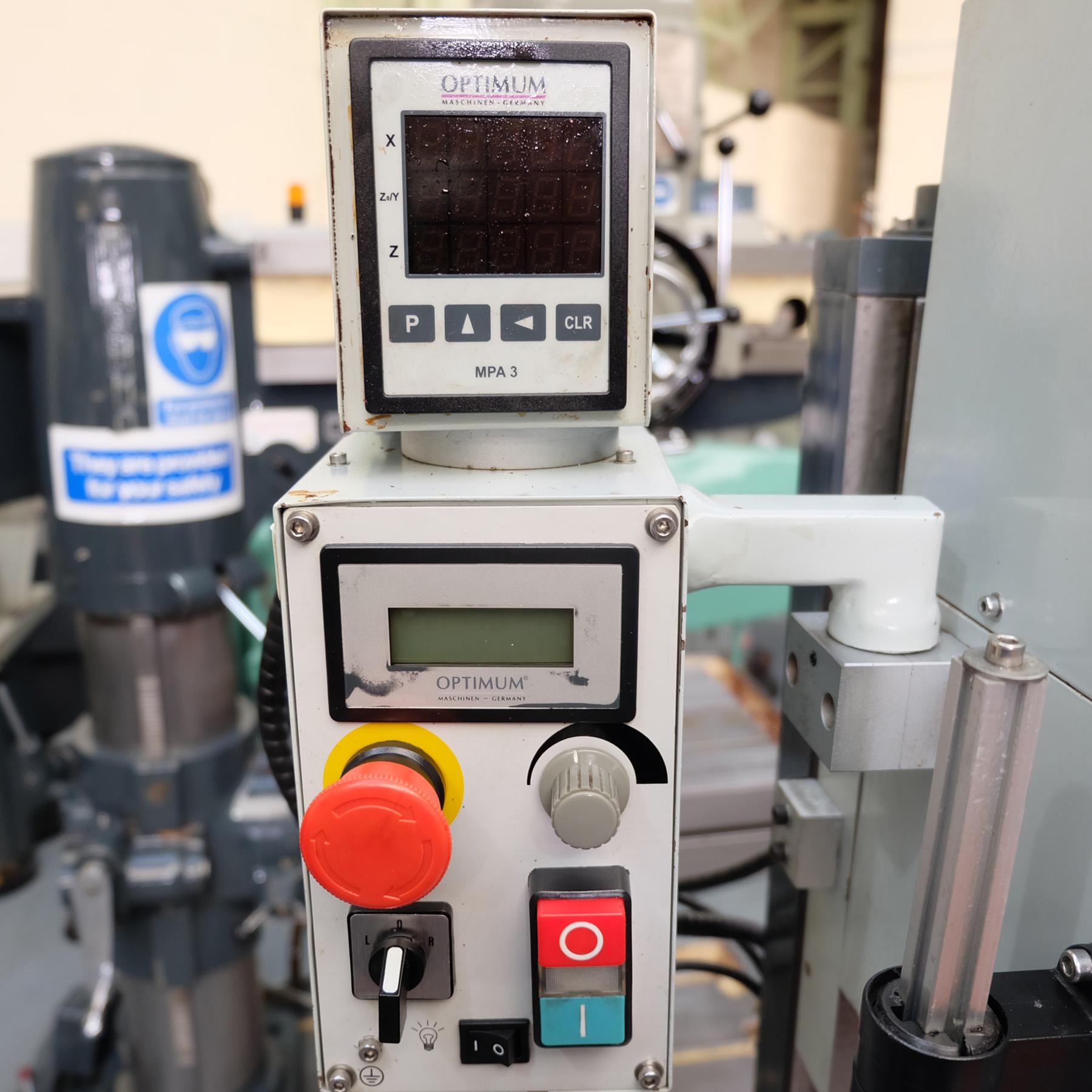 Optimum BF20 Vario Drilling/Milling Machine. - Image 5 of 11