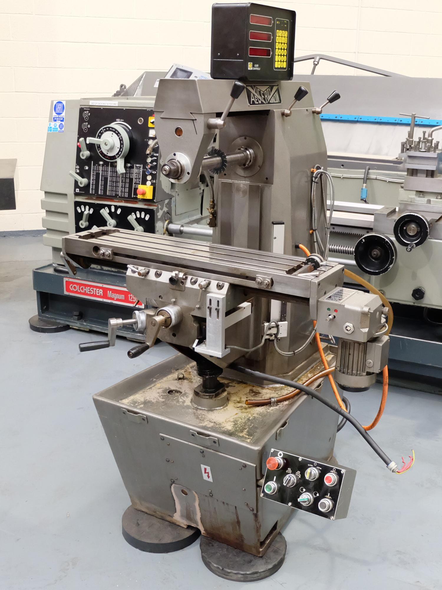 Veceroy AEW: Horizontal Milling Machine.