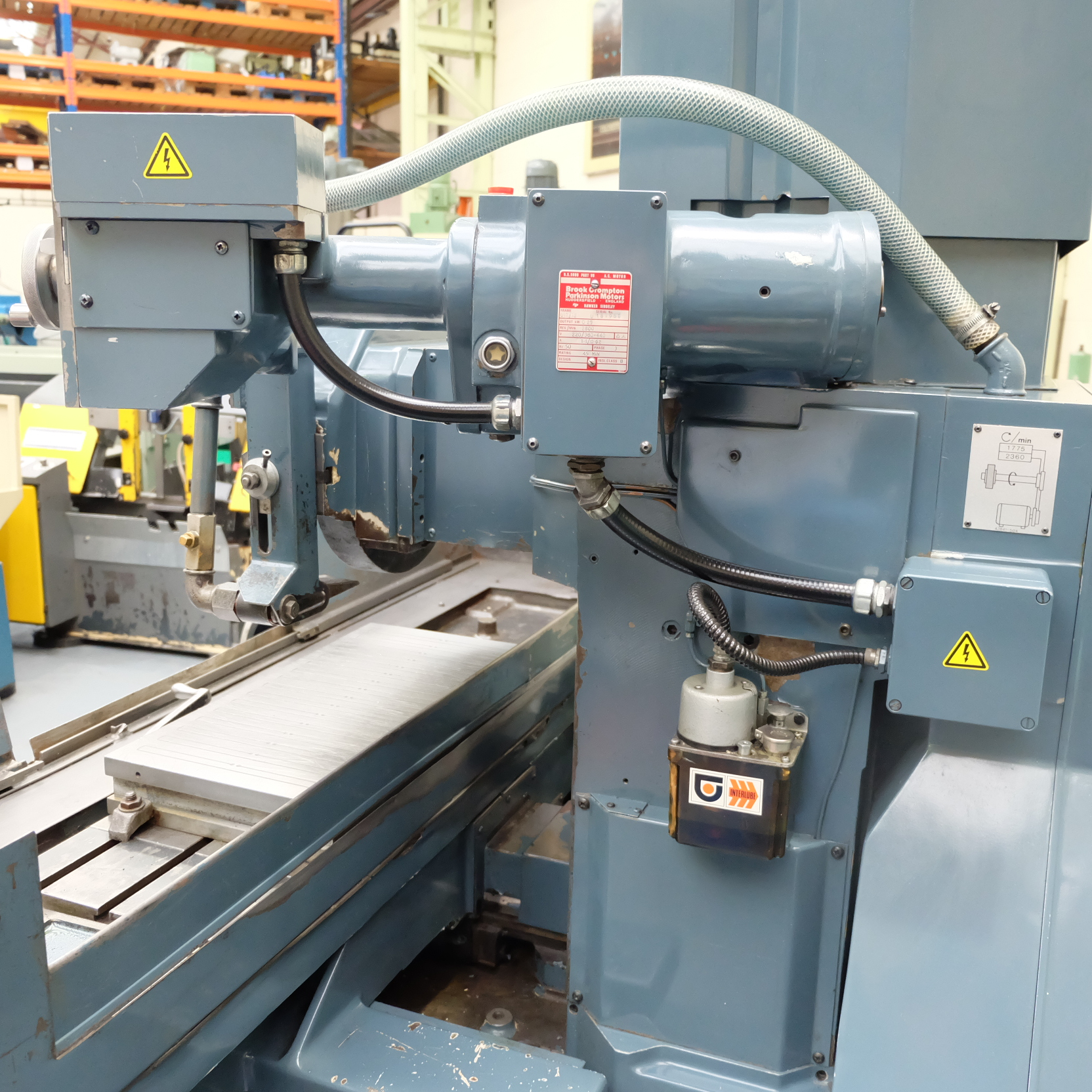 Jones & Shipman Type 1415 Toolroom Surface Grinder. With Magnetic Chuck & Coolant Tank. - Image 10 of 14