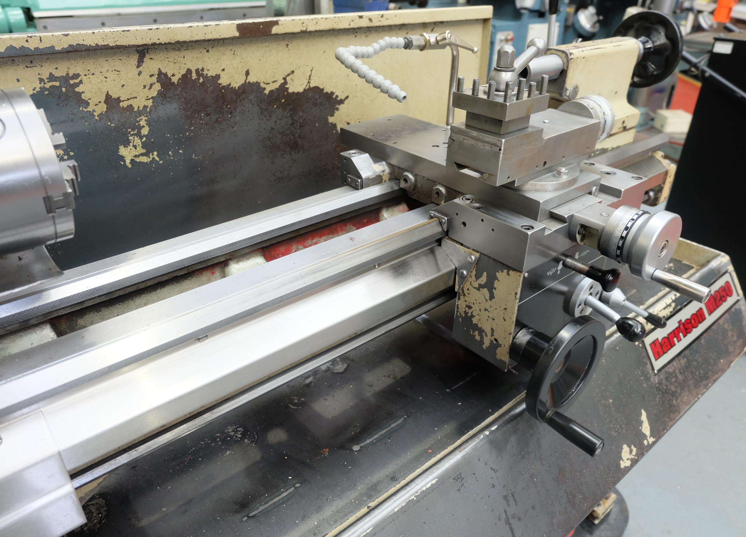 Harrison M250 Toolroom Centre Lathe. - Image 4 of 15