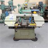 Jaespa W260: Horizontal Bandsaw. Capacity Round Bar 260mm.