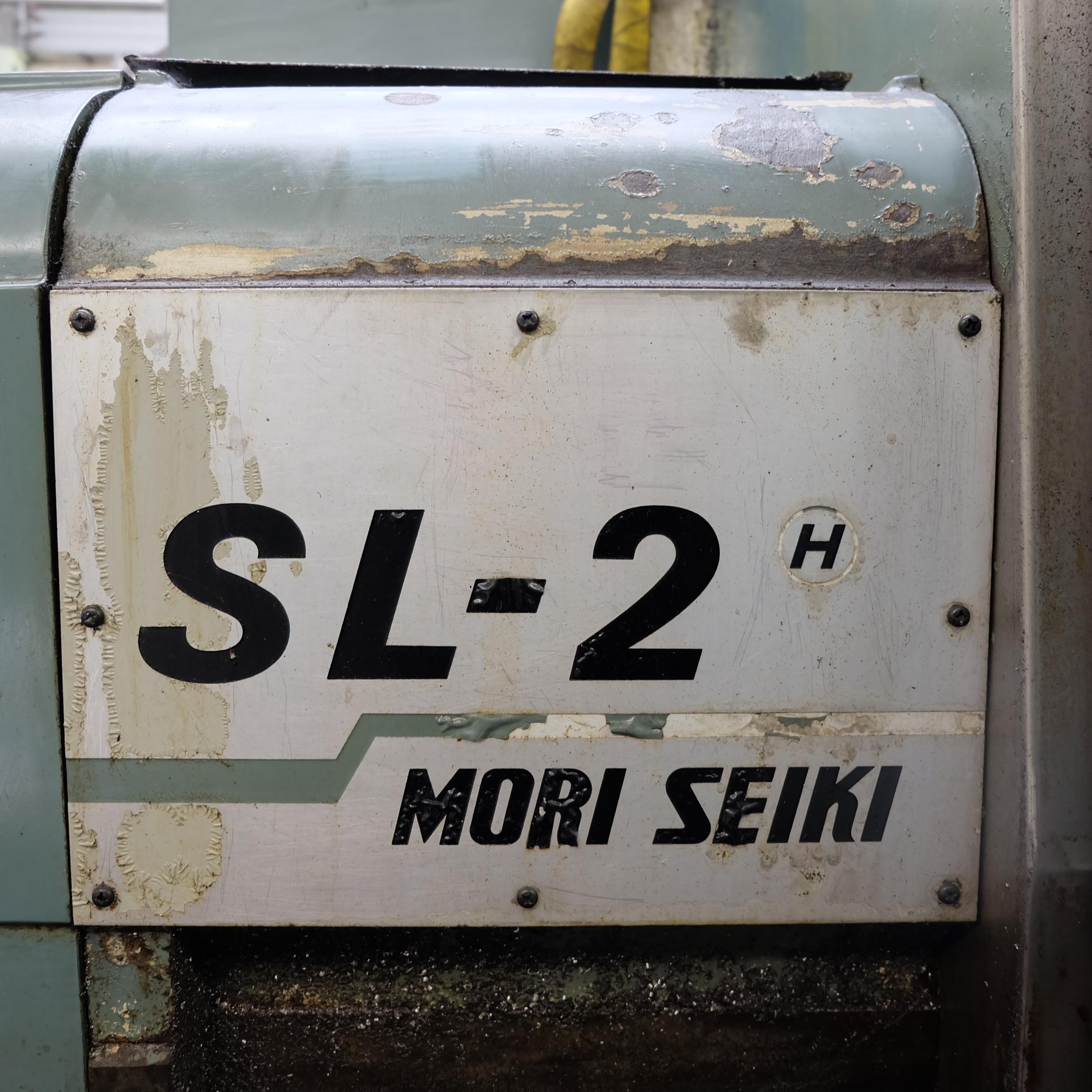 Mori Seiki SL-2H CNC Turning Lathe With Fanuc 11T Control. - Image 16 of 17