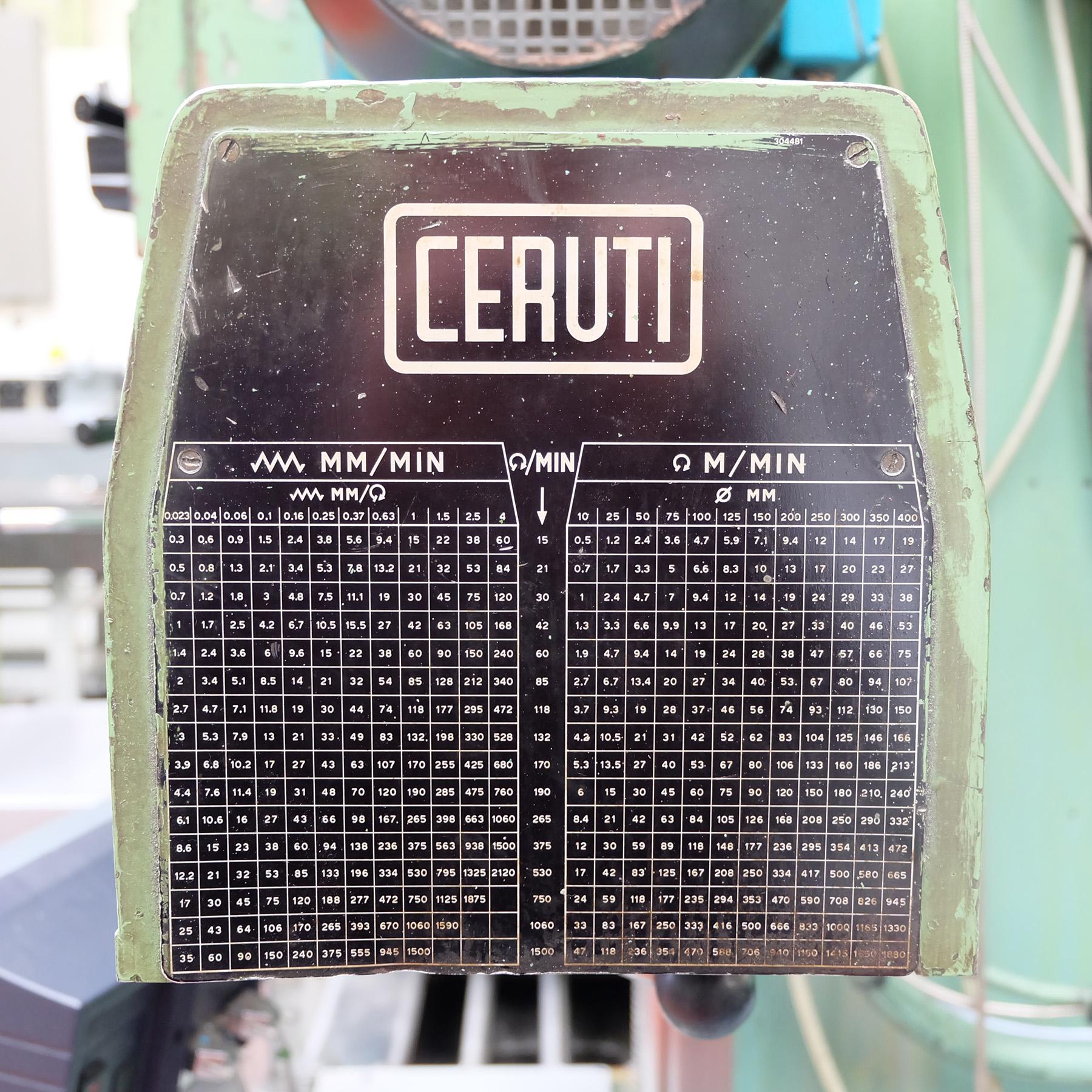 Ceruti Model ABC 75 Horizontal Boring & Milling Machine. With Tooling. - Image 13 of 15